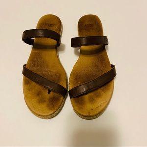 Ugg Espadrille Thong Flip Flop Sandals Size 9